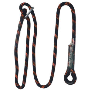Adjustable Length Rope Lanyard with Carabiners – AR-02405/1.0 – 1m